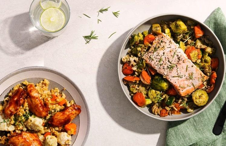 Low calorie ready meals