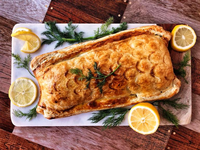 Salmon en croute recipe 3