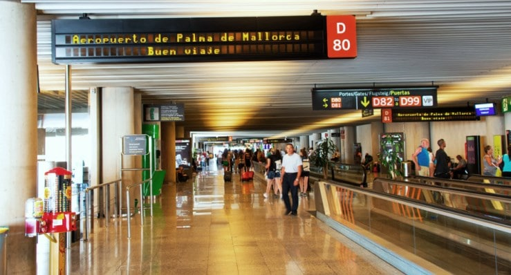 Mallorca Airport to the center