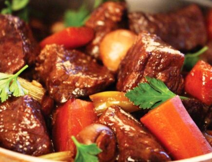 Diced beef recipes
