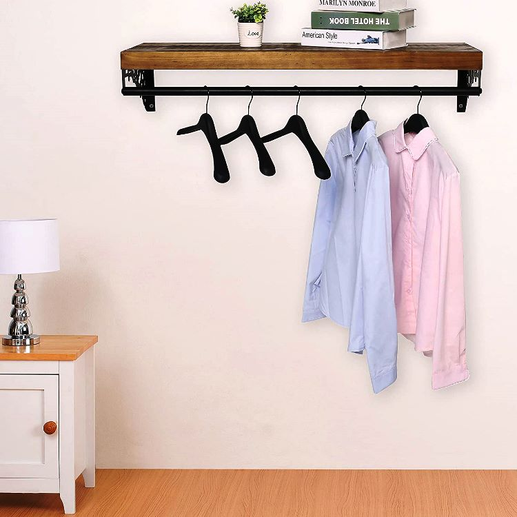 clothes rail wall mounted