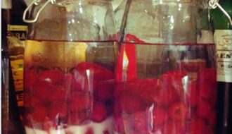 Raspberry gin recipe